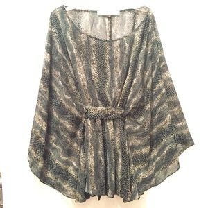Karlie boatneck kimono-sleeve blouse
